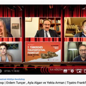 7. Frankfurt Türk Tiyatro Festivali (Online) Sona Erdi !